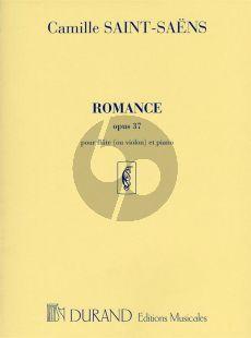 Saint-Saens Romance Op.37 Flute(Violin)-Piano