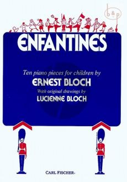 Bloch Enfantines Piano solo (10 Pieces for Children)