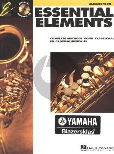 Essential Elements Vol.1 Altsax.(Bk-Cd) (Complete Methode voor Klassikaal en Groepsonderwijs) (ned)