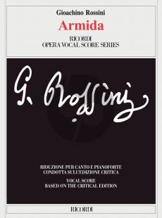 Rossini Armida Vocal Score (ital.) (critical edition) (edited by Brauner)