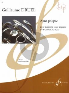 A ma poupee (Clarinet[Bb]-Piano)
