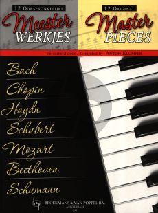 12 Original Master-Pieces for Piano