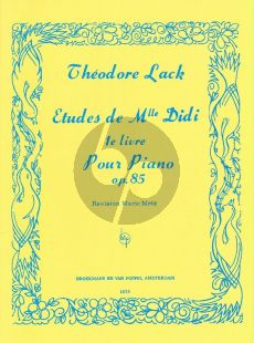 Lack Etudes de Mlle Didi Op.85 Vol.1 Piano