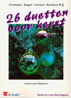 Beringen 26 Duetten voor Kerst 2 Trompetten