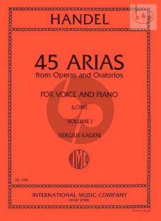45 Arias vol.1 Low Voice
