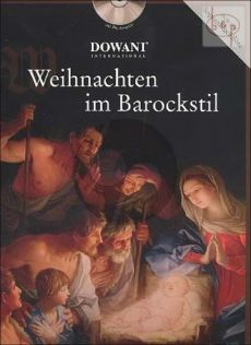 Weihnachten im Barockstil (Descant Rec.-Piano) (Bk-Cd) (Dowani with PLay-Along CD)