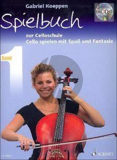 Spielbuch zur Celloschule Vol.1 (Cello Spielen mit Spass und Fantasie)