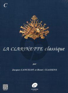 La Clarinette Classique Vol.C Clarinette-Piano (Lancelot-Classens)