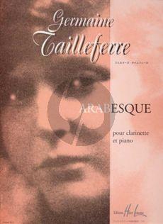 Tailleferre Arabesque Clarinette et Piano