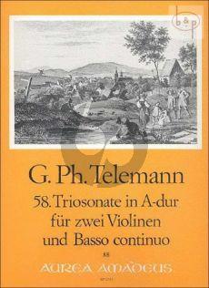 Triosonate A-dur TWV 42:A11