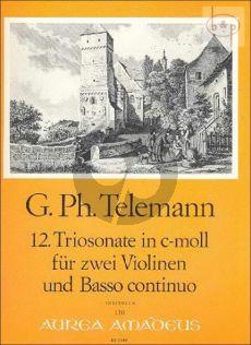 Triosonate c-moll TWV 42:c8