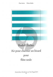 Escher Air pour charmer un Lezard Flute solo (de Reede)