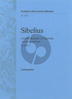 Sibelius Lemminkainen in Tuonela Op. 22 No. 3 Study Score