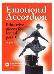 Joop Post Emotional Accordion deel 1 (Educative pieces for recital)