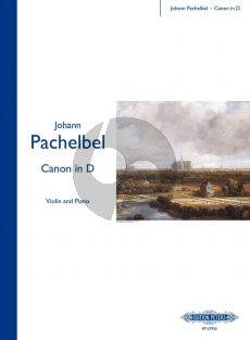 Pachelbel Canon D-major Violin and Piano (transcr. by Samual Marder and Hayes Biggs)