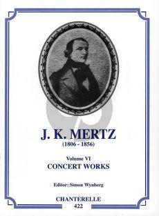 Mertz Works Vol.6 Concert Works (edited by Simon Wynberg)
