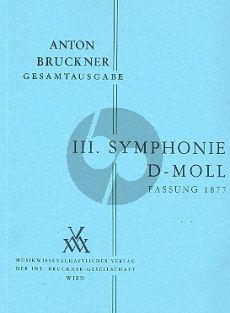 Symphonie No.3 d-moll 2.Fassung