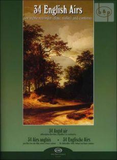 Bingham 34 English Airs (from Bingham Coll. 1702 - 1706)