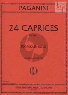 24 Caprices Op.1 Violin solo