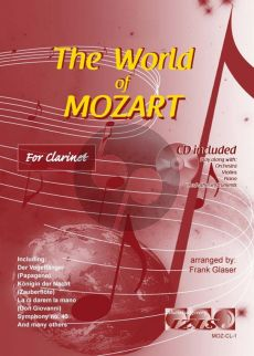 The World of Mozart for Clarinet (Bk-Cd) (arr. Frank Glaser)