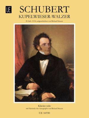 Schubert Kupelwieser-Walzer (D.Anh.I:214) Klavier (Richard Strauss)