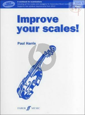 Improve your Scales Violin Grade 1
