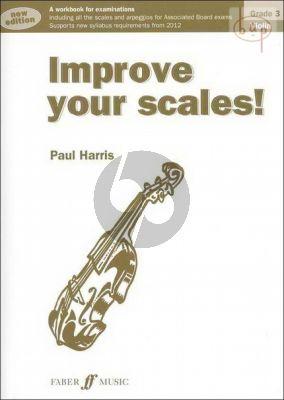 Improve your Scales Violin grade 3