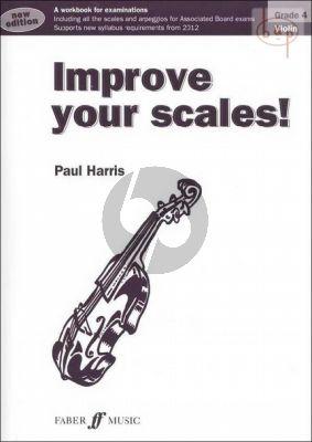 Improve your Scales Violin Grade 4