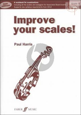 Improve your Scales Violin Grade 5
