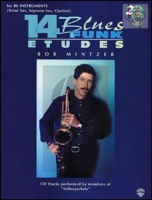Mintzer 14 Blues & Funk Etudes for Bb Instruments (Bk-Cd)