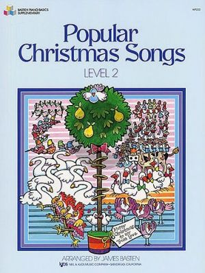 Bastien Popular Christmas Songs Level 2 Piano