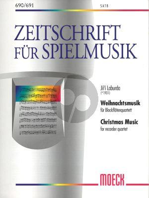 Laburda Weihnachtsmusik 4 Blfl. (SATB) (Score)