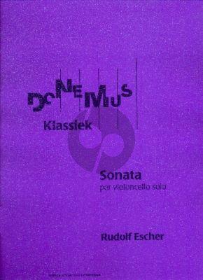 Escher Sonate Cello solo (1945 / 48)