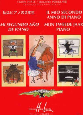 Herve-Pouillard Mijn Tweede Jaar voor Piano