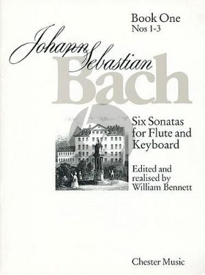 Bach 6 Sonatas Vol.1 (No.1 - 3) (Flute-Bc ) (Edited by William Bennett)