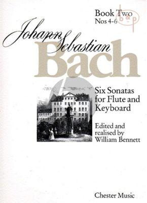 6 Sonatas Vol.2 (No.4 - 6) (Flute-Bc )