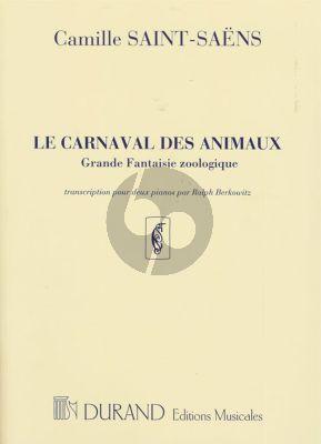 Saint-Saens Carnaval des Animaux 2 Pianos (Ralph Berkowitz)