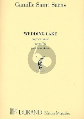 Saint-Saens Wedding Cake op.76 (Caprice-Valse) 2 Pianos