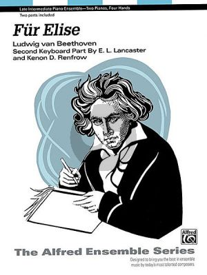 Beethoven Fur Elise 2 Piano's 4 Hds ( (arr. by E. L. Lancaster and Renfrow)