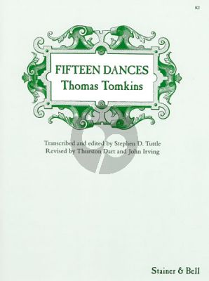 Tomkins 15 Dances for Harpsichord