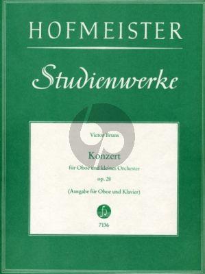 Bruns Konzert Op.28 Oboe und kleines Orchester (KA)