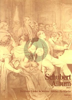 Schubert Beruhmte Lieder Leichter Spielart Vol.1 Klavier