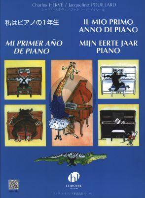 Mijn Eerste jaar Piano (Piano Methode voor Beginners)