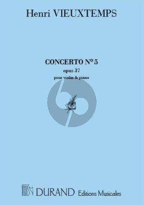 Vieuxtemps Concert No.5 Op.37 Violon-Piano