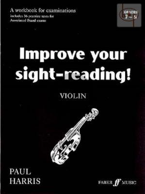 Improve your Sightreading Grade 7 - 8 Violin