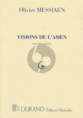 Messiaen Visions de L' Amen pour 2 Piano's