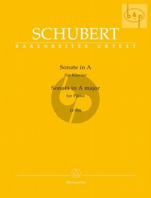 Sonate A-dur D.959