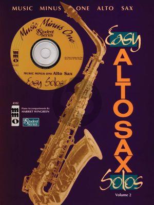 Easy Alto Sax Solos Vol.2 (Bk-Cd) (MMO Student Series)