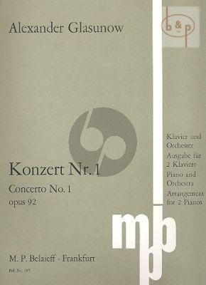 Concerto No.1 Op.92 f-minor