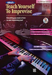Konowitz Teach Yourself to Improvise (Bk-Cd)